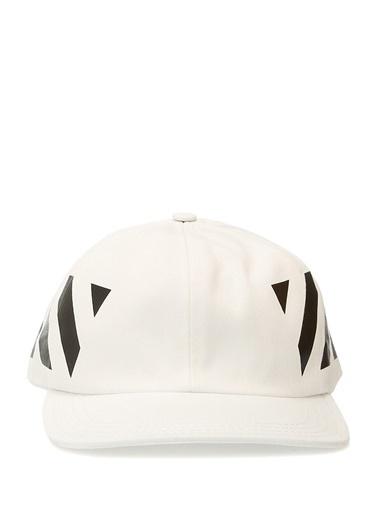 Off-White Şapka Beyaz